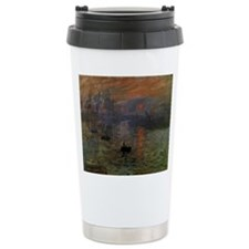 Impression, Sunrise by Claude Monet Travel Mug
