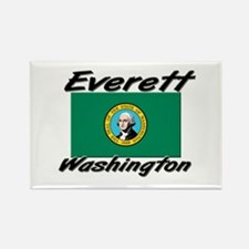 Everett Washington Rectangle Magnet