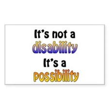 Possibility Rectangle Decal