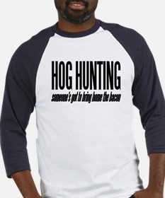 Hog Hunting Baseball Jersey