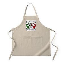 Italian Stallion tribal Italian BBQ Apron