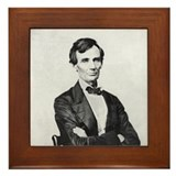 Abraham lincoln framed tile Framed Tiles