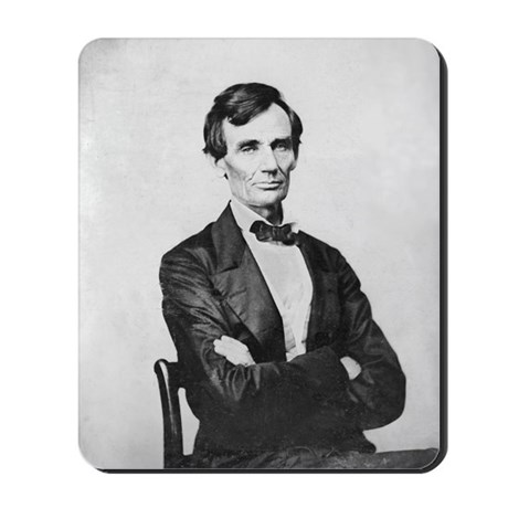Candidate Abraham Lincoln Mousepad