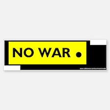 NO WAR PERIOD Bumper Bumper Bumper Sticker