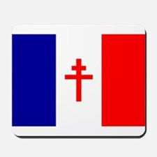 Free French Forces Flag Mousepad