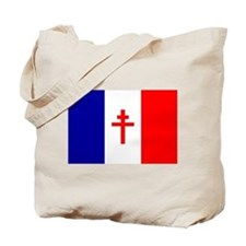 Free French Forces Flag Tote Bag
