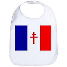 Free French Forces Flag Bib
