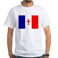 Free French Forces Flag Shirt