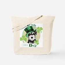 St. Patrick Miniature Schnauzer Tote Bag