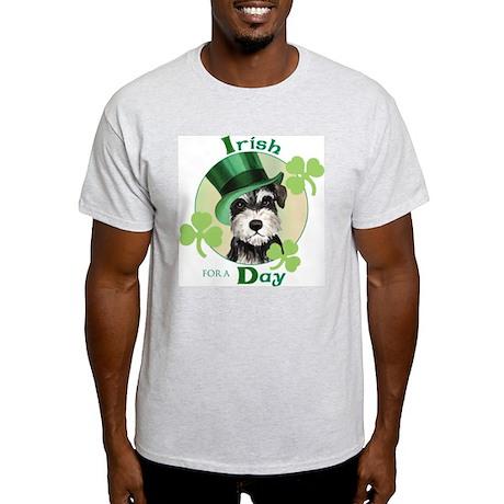 St. Patrick Miniature Schnauzer Light T-Shirt
