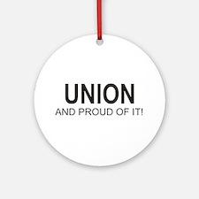 Proud Union Ornament (Round)