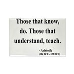 Aristotle 15 Rectangle Magnet (100 pack)