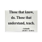 Aristotle 15 Rectangle Magnet (10 pack)