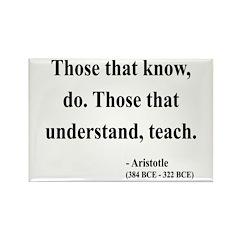 Aristotle 15 Rectangle Magnet