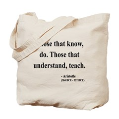 Aristotle 15 Tote Bag