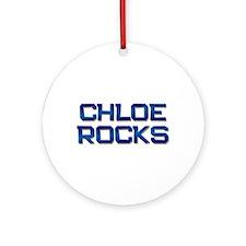 chloe rocks Ornament (Round)