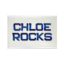 chloe rocks Rectangle Magnet