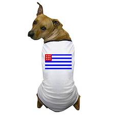 El Salvador Flag (1865) Dog T-Shirt