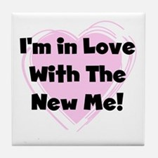 New Me Weight Loss Tile Coaster