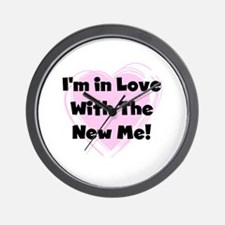 New Me Weight Loss Wall Clock