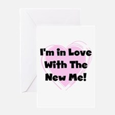 New Me Weight Loss Greeting Card