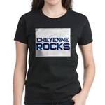 cheyenne rocks Women's Dark T-Shirt