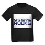 cheyenne rocks Kids Dark T-Shirt