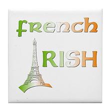 French Irish Tile Coaster