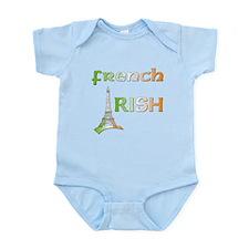 French Irish Infant Bodysuit Onesie Shirt