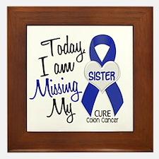 Missing My Sister 1 CC Framed Tile