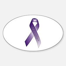 Fibromyalgia Oval Decal
