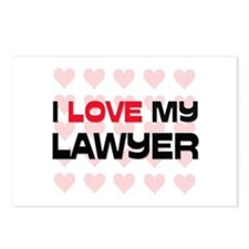 I Love My Lawyer Postcards (Package of 8)