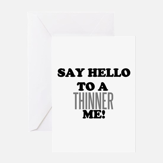 Thinner Me Dieter Greeting Card