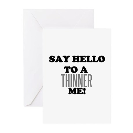 Thinner Me Dieter Greeting Cards (Pk of 10)