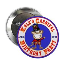 "Kole's 2nd birthday 2.25"" Button (10 pack)"