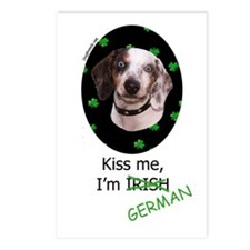 Kiss me Dachshund Postcards (Package of 8)