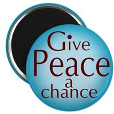 Give Peace a Chance Magnet