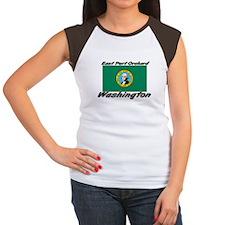 East Port Orchard Washington Women's Cap Sleeve T-