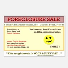 Joke Foreclosure with a SMILE Postcards (P