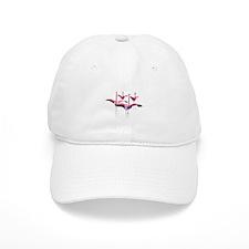 Flamingos on Baseball Cap