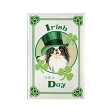 St. Patrick Japanese Chin Rectangle Magnet