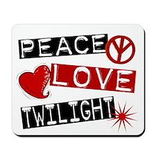 Peace Love Twilight L1 Mousepad