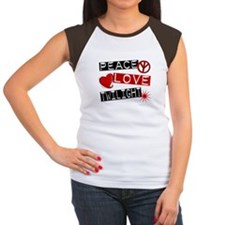 Peace Love Twilight L1 Women's Cap Sleeve T-Shirt