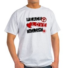 Peace Love Twilight L1 T-Shirt