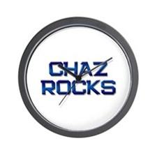 chaz rocks Wall Clock