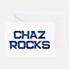 chaz rocks Greeting Card