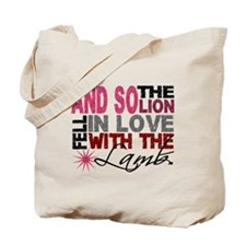 Lion Fell In Love With Lamb 1 Tote Bag