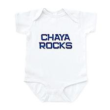 chaya rocks Infant Bodysuit