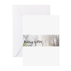 Hating is Out Greeting Cards (Pk of 10)