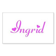 Ingrid Rectangle Decal